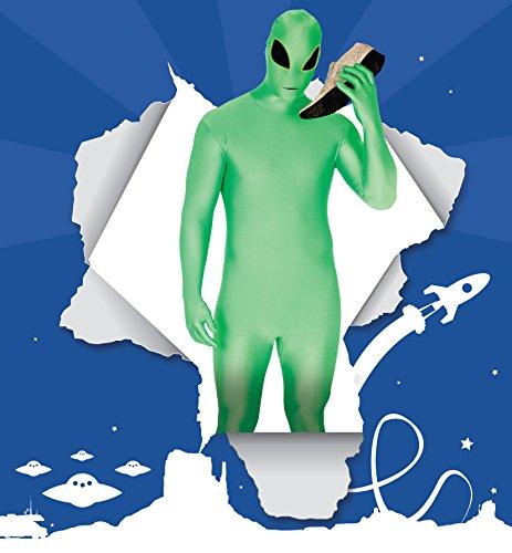 Morphsuits - Costume Intero da Alien, Adulto, Taglia: XXL