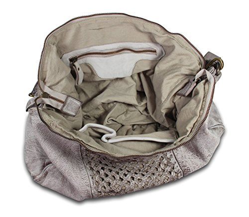 IO.IO.MIO Borsetta per le Icone® , shoppers femme washed white (weiss-grau)