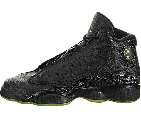 Nike Air Jordan 13 Retro BG (GS) 'Altitude Green' - 414574-042 - Size 4Y - (Jordan Für Retro Kinder 13)
