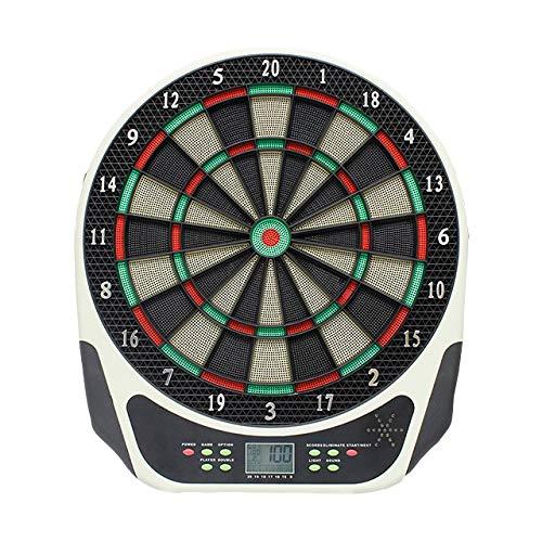 everfarel Dartautomat Dartboard dartscheibe elektronisch LCD mit 6 Dartpfeile für 1-8 Spieler mit an