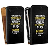 Apple iPhone 3 GS Coque de protection en silicone protection Cover Proverbes Batman...