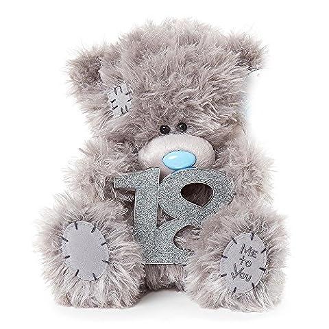 Soft Grey Me To You Medium Plush Tatty Teddy Bear 18th Birthday