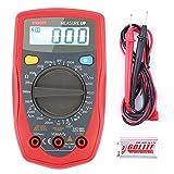 Etekcity MSR-R500 Digital Multimeter zum Messen von Gleichstrom Gleich-und Wechselspannung Widerstand Durchgang mit Batterie und 2 Messleitungen