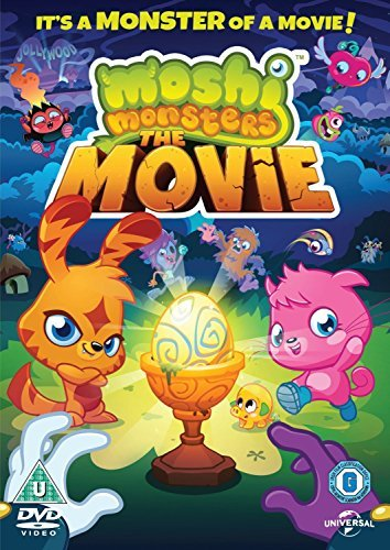 Image of Moshi Monsters The Movie [NON USA FORMATTED VERSION REGION 2 DVD]