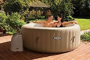 Intex PURE Spa Jacuzzi de luxe gonflable pour 4personnes. Set complet