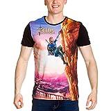Lien de Zelda Breath of the Wild T-shirt-M Climbing
