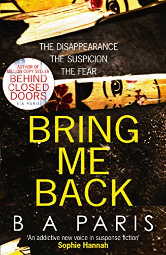 PDF BOOK Bring Me Back: The gripping Sunday Times Bestseller
