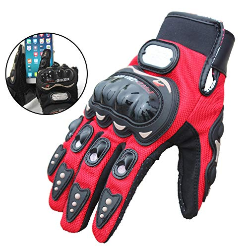 Guanti moto estate motocross off road guanto touch screen full finger guanti moto ciclismo corsa per regalo divertente