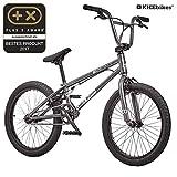 KHE BMX Fahrrad Chris BÖHM 20 Zoll patentierter Affix 360° Rotor nur 11,45kg! schwarz grün (schwarz)