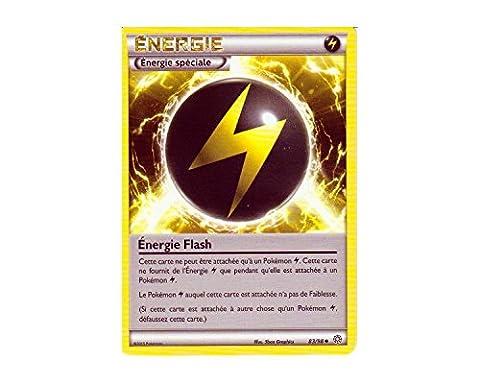 Carte Pokémon 83/98 ENERGIE FLASH - Série XY Origines Antiques XY7 - NEUVE FRANCAISE
