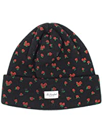 ffdb78c7a13 The Hundreds Beanie Hat Rose Black Winter Hat