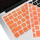 Die besten HDE Computer-Mäuse - Top Fall–Orange Silikon Tastatur Cover Skin für Old Bewertungen