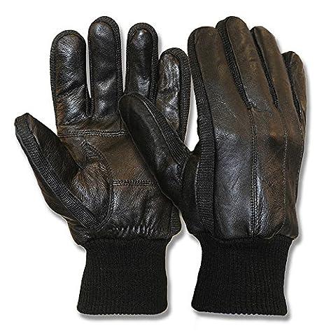 Collection Classique Hommes robe de pilote Gants en peau de mouton gants en cuir véritable (Driver Guanti)
