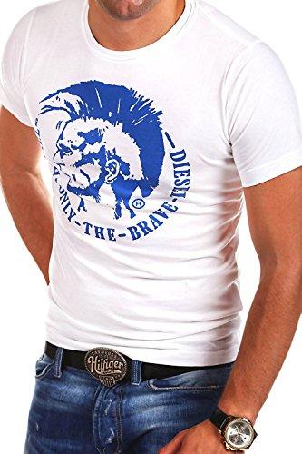 diesel-t-shirt-polo-achel-weiss-l