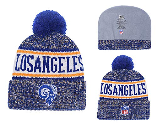 2019 Hip hop Sports Fashion Knit hat Los Angeles Rams Beanie