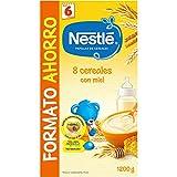 Nestlé Papillas 8 Cereales Con Miel A Partir De 6 Meses - 1200 g