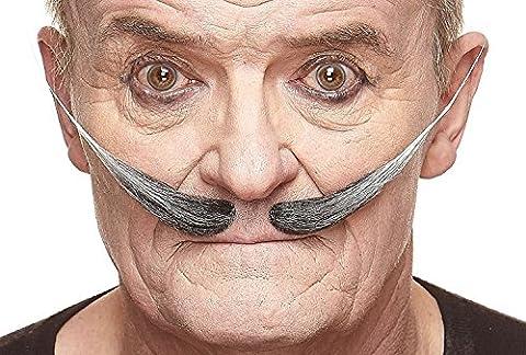 Moustache Dali poivre et sel