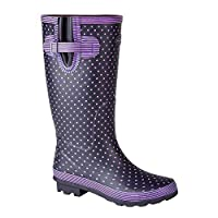 StormWells Womens/Ladies Polka Dot Wellington Boots