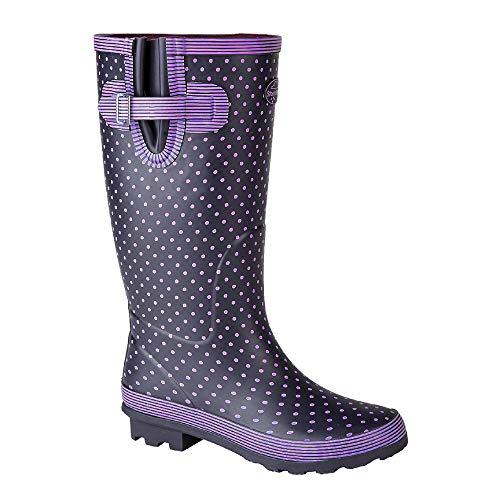 Stormwells Womens/Ladies Polka Dot Wellington Boots