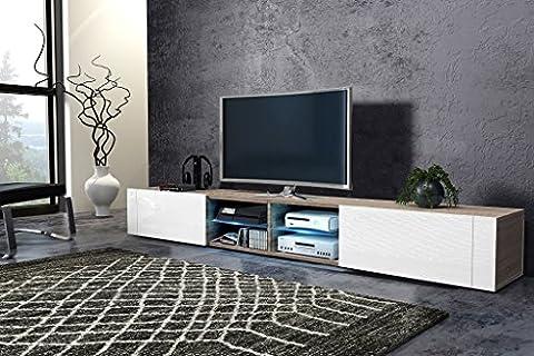 Tv Schrank HIT 2 DOUBLE Tv Lowboard Unterschrank Hochglanz !!!