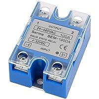 Azul relé de CC a CA 24-480V 4-32V BEM-100DA 100A Crydom Solid State