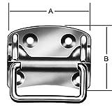 Kistengriffe 80x70mm Nr. 1328080Z