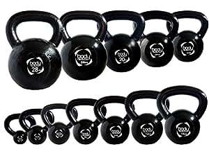 Body Revolution Cast Iron Kettlebell - Strength Training Home Gym Equipment (2 KG)