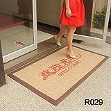 BLZZR* manifiestan que el pie-publicidad Fußmatte reibt contra el terror en ascensor, abre...