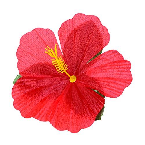 Preisvergleich Produktbild Boland 52513–Set 24Blumendekor Hibiscus Hawaii, mehrfarbig
