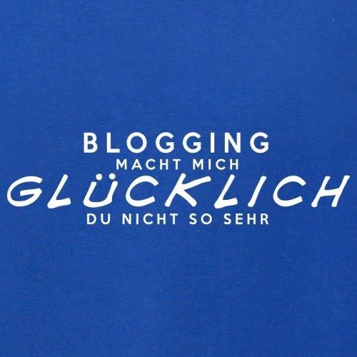 Blogging macht mich glücklich - Unisex Pullover/Sweatshirt - 8 Farben Royalblau
