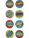 Teacher Created Resources Superhero Mini Stickers (5642)