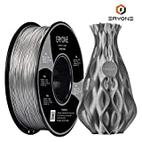 Filament PLA 1.75mm Sparky Silver, ERYONE PLA Filament For 3D Printer and 3D Pen, 1KG, 1 Spool