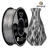 Filament PLA 1.75mm Sparky Silver, ERYONE PLA Filament For 3D Printer and 3D Pen, 1KG, 1 Spool