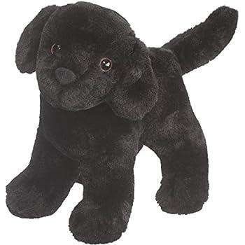 cuddle toys 20 cm long abraham black labrador plush toy