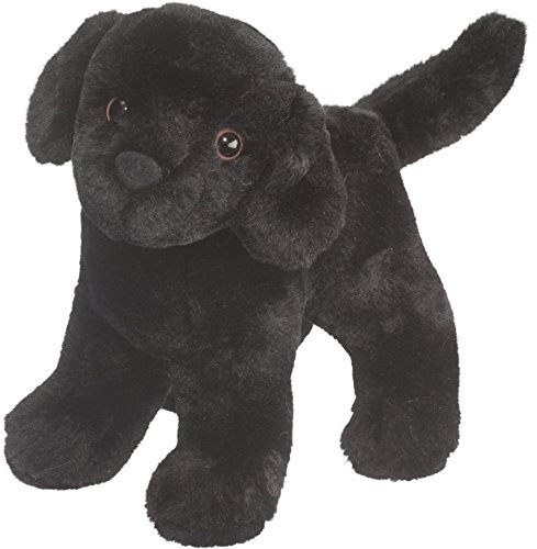 Cuddle Toys 3997 20 cm Long Abraham Black Labrador Plush Toy