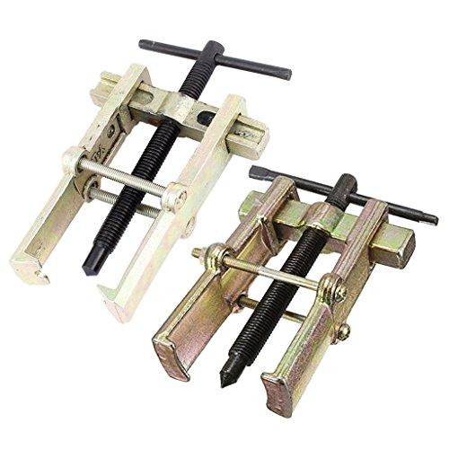 B Blesiya 2 Stück Zwei Kiefer 2 Beine Lager Zahnrad Nabenabzieher Entferner Handwerkzeug Entfernung Werkzeug, 100mm + 150mm
