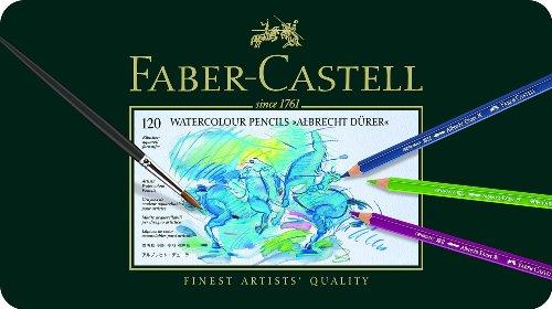 Faber-Castell 117511 - Aquarellstift Albrecht Dürer 120er Metalletui
