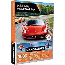 DAKOTABOX - Caja Regalo - MÁXIMA ADRENALINA - 9500 experiencias de conducción o aventura: Ferrari, Porsche, salto tándem y mucho más