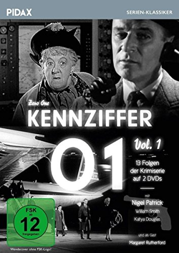 Kennziffer 01 (Zero One) / 13 Folgen der Kriminalserie mit Nigel Patrick und vielen Stars, u.a. MISS MARPLE-Darstellerin Margaret Rutherford (Pidax Serien-Klassiker) [2 DVDs]