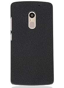 Tapfond Len_K4_N16 Hard Back Case Cover With Bundle Offer For Lenovo Vibe X3 - Premium Quality Mobile Phone Accessories, Quicksand Case Slippage Free Design, Elegant, Convenient & Lightweight Case-Scratch Proof-Quicksand Black