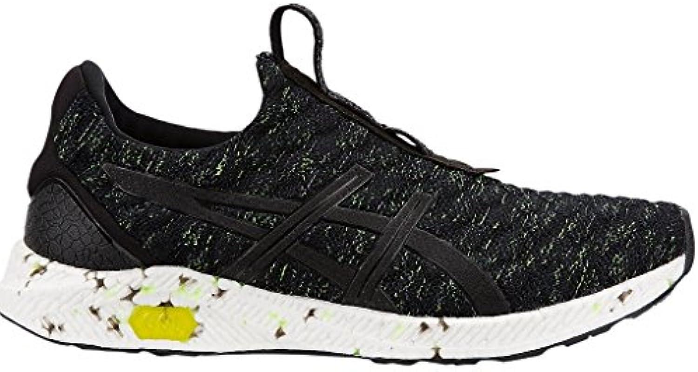 Asics HyperGel Kenzen Mens Running Shoes, Black/Safety Yellow/Carbon - 11 UK …