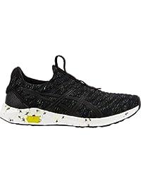 Asics HyperGel Kenzen Mens Running Shoes, Black/Safety Yellow/Carbon - 10 UK …