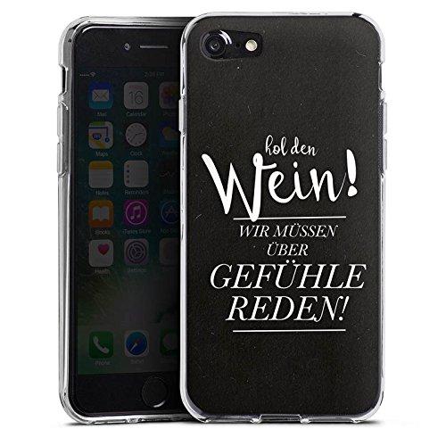Apple iPhone X Silikon Hülle Case Schutzhülle Gefühle Liebe Sprüche Silikon Case transparent