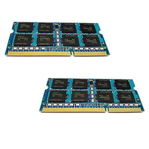 dekoelektropunktde Toshiba Satellite Pro C660-16E L550-17M L670-1CT | 8GB KIT Dual Channel (2X 4GB) Ram Speicher Arbeitsspeicher SODIMM PC3 DDR3 Memory Upgrade für