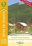 Locations de chalets, campings et campings à la ferme...