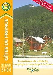 Locations de chalets, campings et campings à la ferme