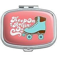 Rollschuhe Derby Keep On Rolling Skaten Rechteck Pille Fall Schmuckkästchen Geschenk-Box preisvergleich bei billige-tabletten.eu