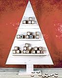 Weihnachtsbaum groß Holz Bausatz 120cm Adventskalender
