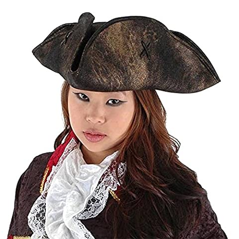 Costume Pirate Hat - Chapeau fantaisie - Tricorne de Pirate, Elope