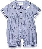 Rachel Riley Baby-Jungen Spieler Nautical Babysuit, Blue (Bl Bl04), 6-12 Monate